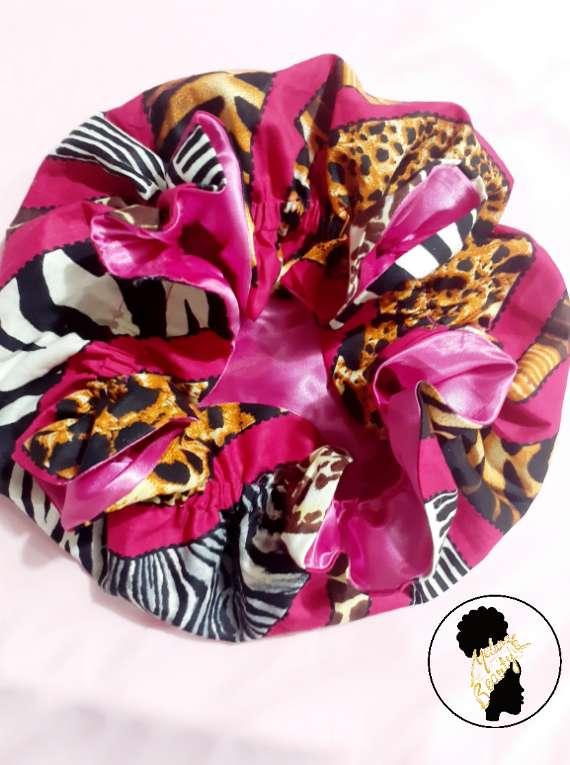 Animal Print Adult Bonnet