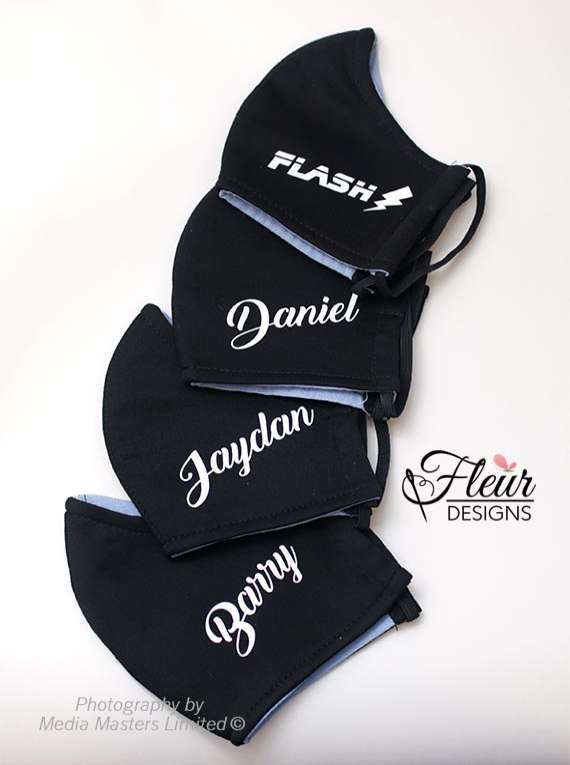 Customised Family FaceMask - Fleur Designs