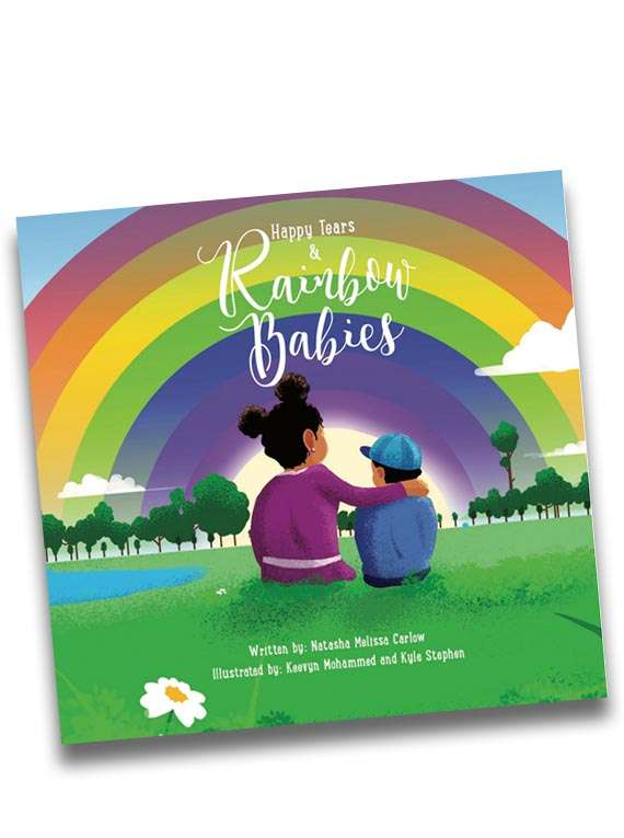 Happy Tears And Rainbow Babies : Children's Story Book -natasha Carlow