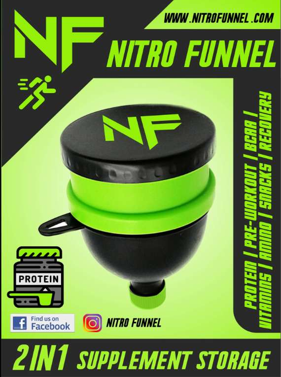 Nitro Funnel 2 In 1 Storage
