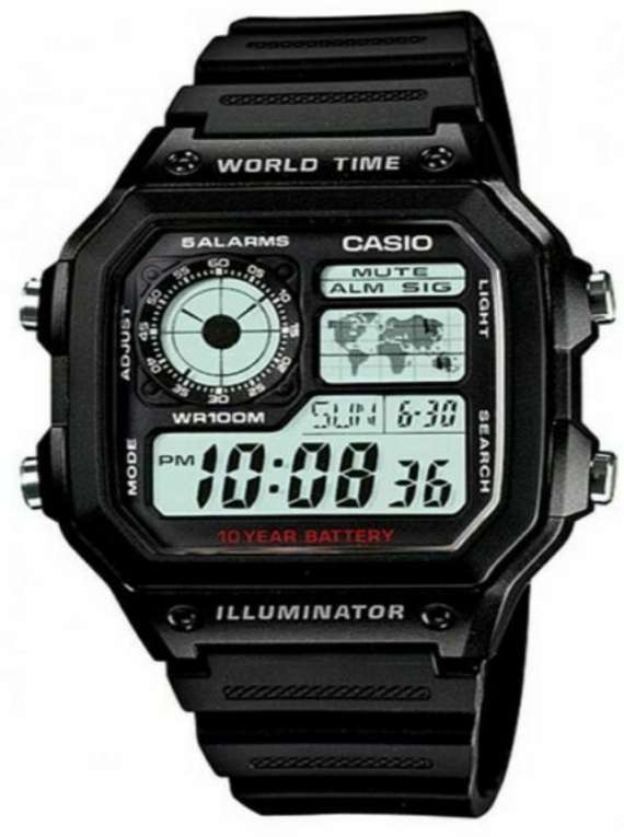 Casio Men's AE1200WH-1A Watch