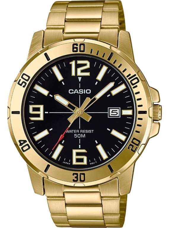 Casio Men's Enticer Gold Tone