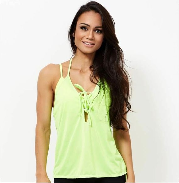 Activewear Yellow Vest
