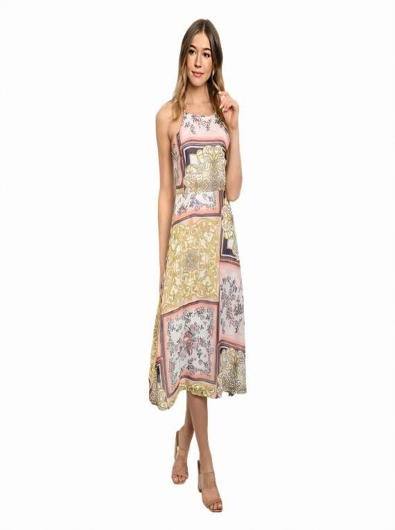 Sleeveless Tunic Dress