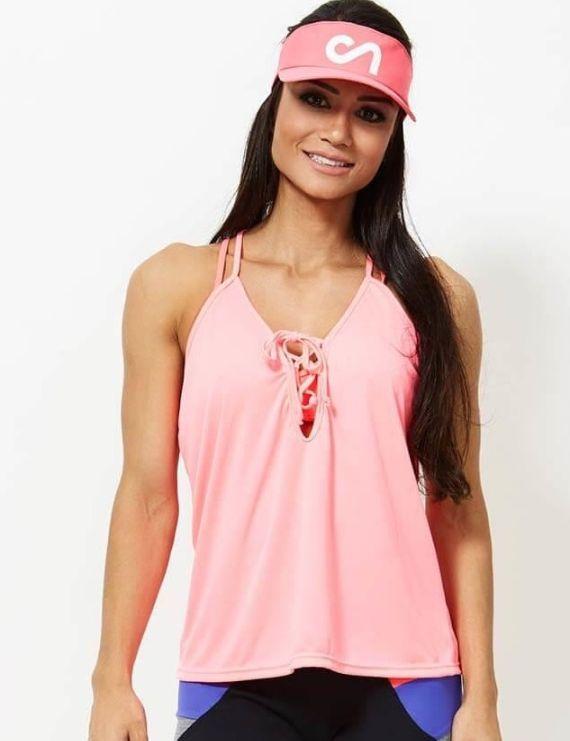 Pink String Top