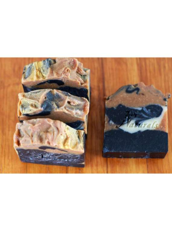 Charcoal And Turmeric Soap