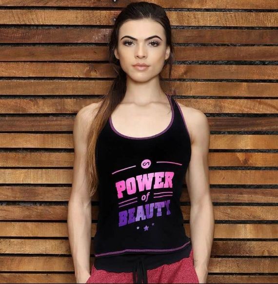 Black Power & Beauty Top