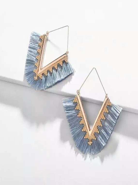 Tassel Earrings Geometry