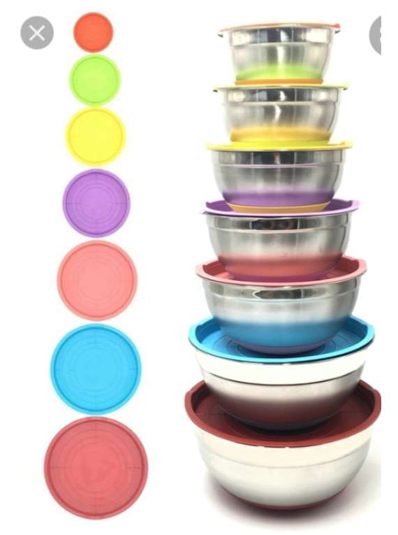 Stainless Steel 14pc Bowl Set