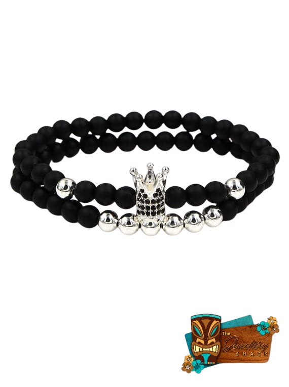Black Agate And Crown image