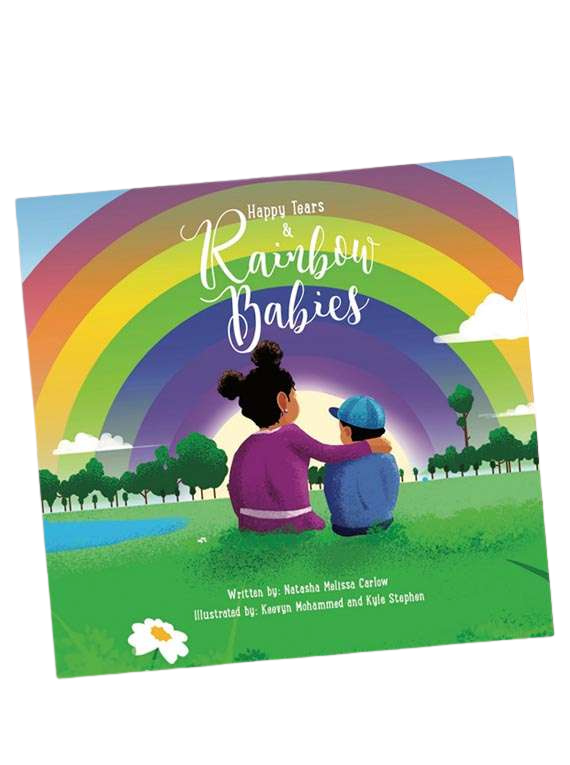 Happy Tears And Rainbow Babies : Children's Story Book -Natasha Carlow image