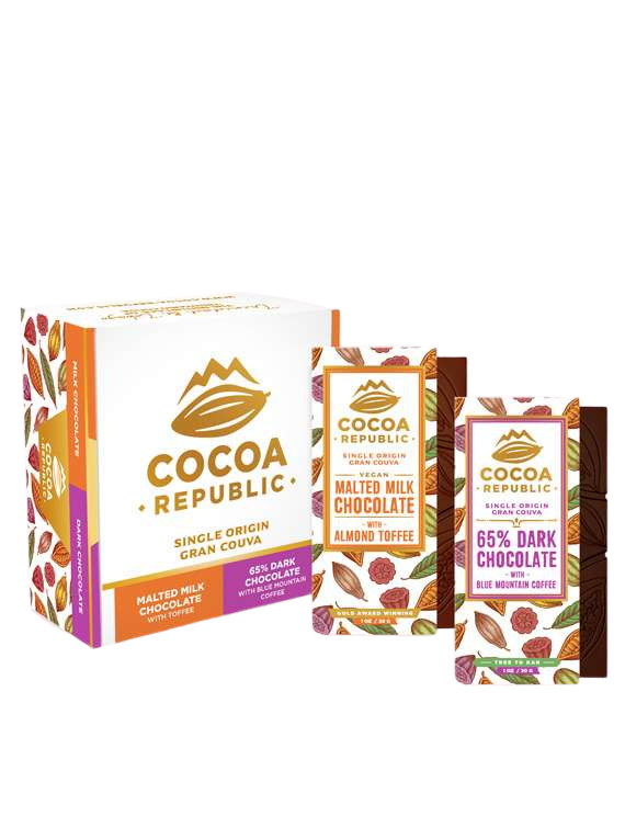 Cocoa Republic - Gift Box (10 Bars Mixed) image