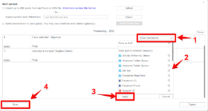 how-to-select-the-queue-during-bulk-upload