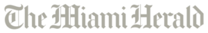 The Miami Herald washed out logo