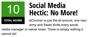Social media management tool recommendation, eClincher
