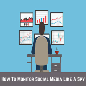 how to monitor social media