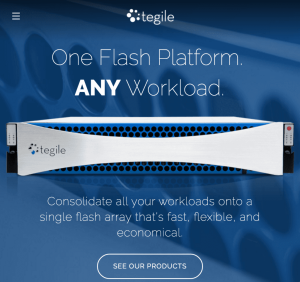 Tegile customer success testimonial, eClincher