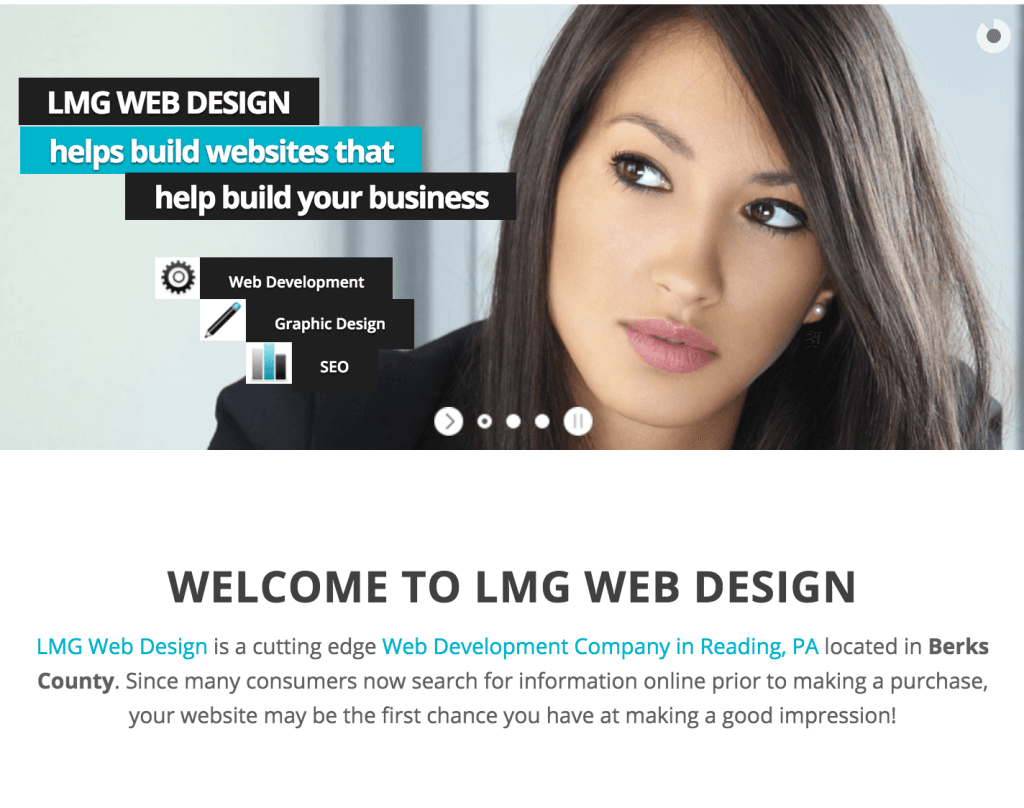 LMG Web Design is using eClincher, social media management tool