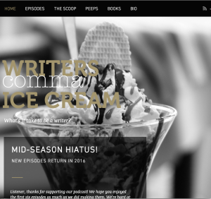 Writers comma Ice Cream