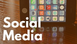 Social media with phone .eClincher, social media management tool