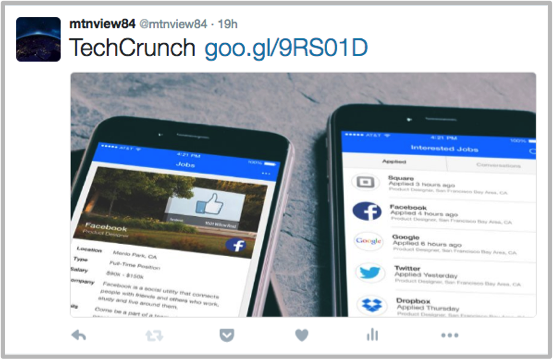 Post with URL without Twitter meta tags