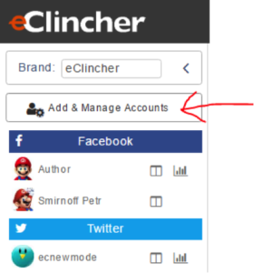 Add & Manage Accounts
