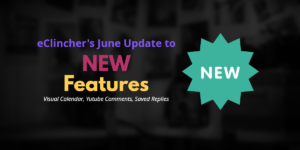 eClincher June New Features