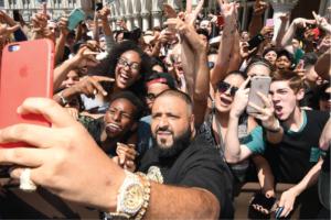 DJ Khaled takeover of Los Angeles on Snapchat