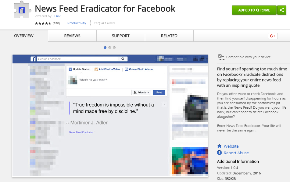 News-Feed-Eradicator-for-Facebook-Chrome-Web-Store-Google-Chrome