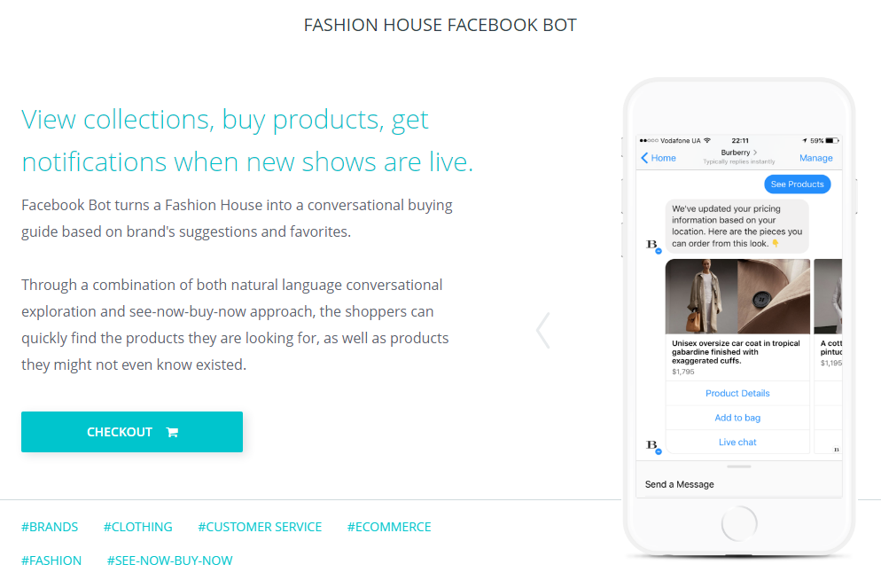 chatbot-template-fashion-ecommerce