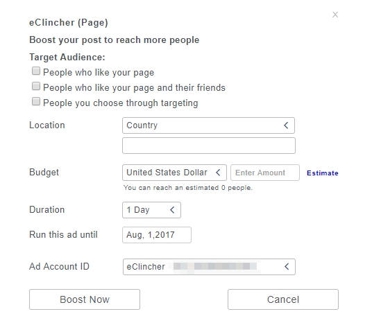NEW Facebook Boost Feature in eClincher is Here! - eClincher