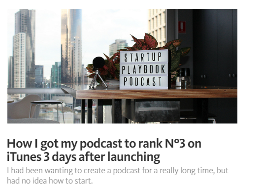 How to start a successful podcast itunes