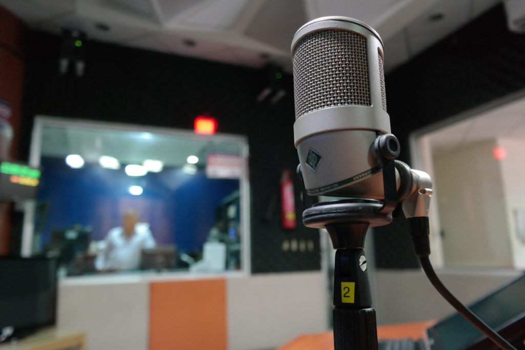 microphone-in-the-recording-studio