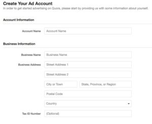 create-your-ad-account-quora