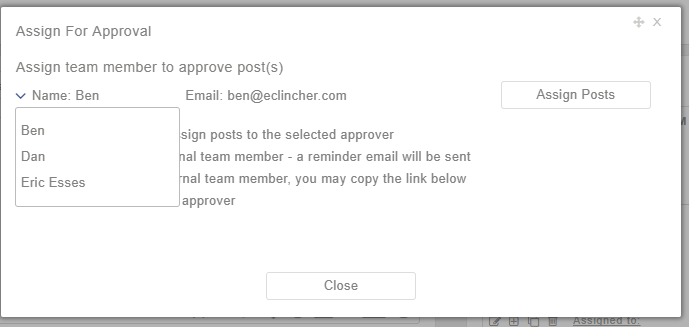 assign-post-to-team-member-for-approval