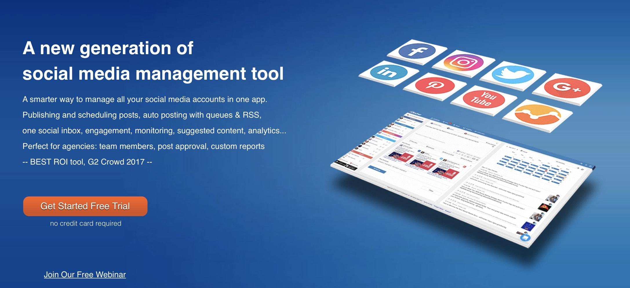 eClincher, best social media management tool - eClincher