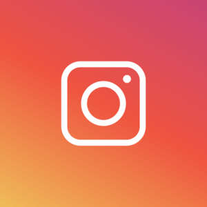 instagram icon with orange background
