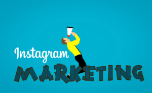 Instagram marketing illustration