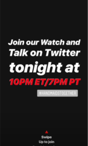 Hulu Instagram Stories