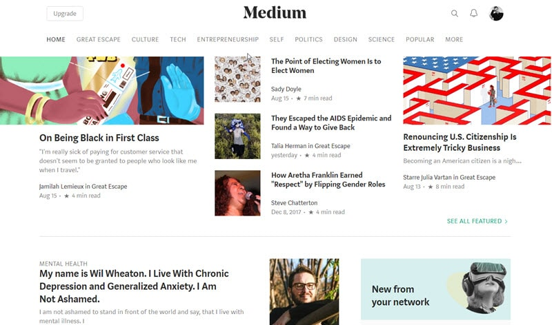 medium brings new audience