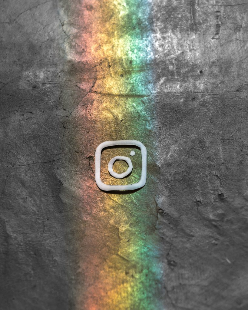 instagram rainbow