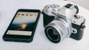 camera and instagram