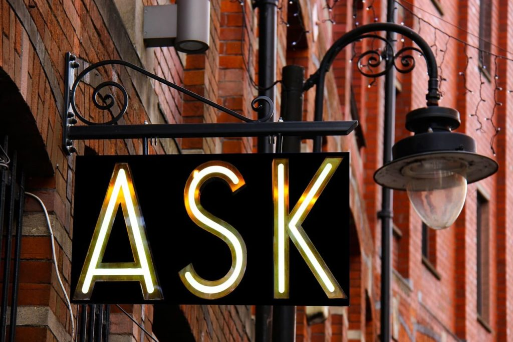 ask sign