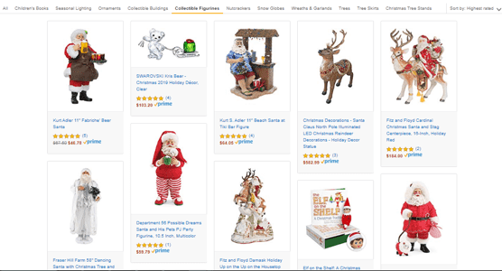 amazon holiday products