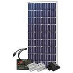 Solarland USA SUN Wanderer SLRV-160K > 160W 12 Volt DC RV Starter Kit