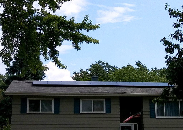 Customer Dan H. of Illinois Solar Installation