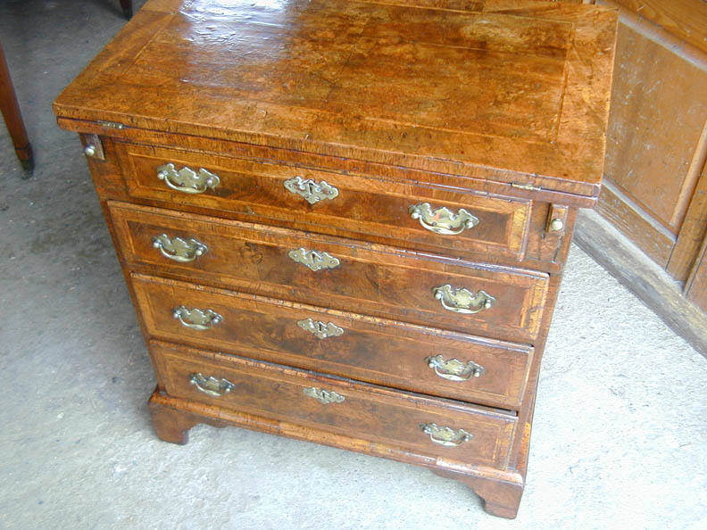 Walnut chest 1