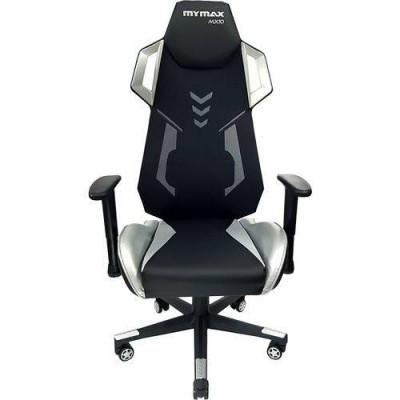 Cadeira Gamer Mx10 Giratoria Preto/prata - Mymax
