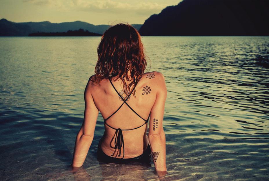 100% Organic Temporary Tattoos