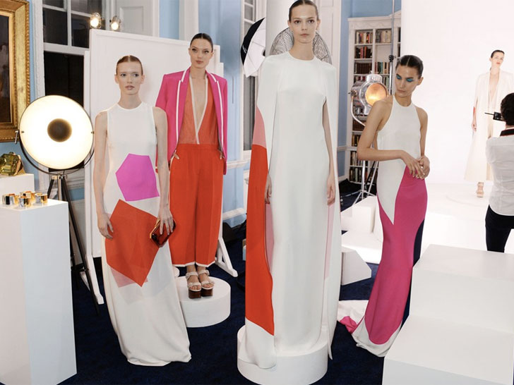 London Fashion Week: Stella McCartney + Livia Firth's